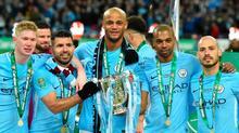 """Hé lộ mức thưởng """"khủng"""" của Man City nếu vô địch"""