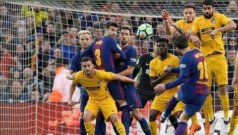 Barcelona 1-0 Atletico: Siêu phẩm của Messi