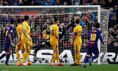 Barcelona 1-0 Atletico
