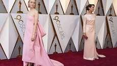 Dàn sao toả sáng trên thảm đỏ Oscar 2018