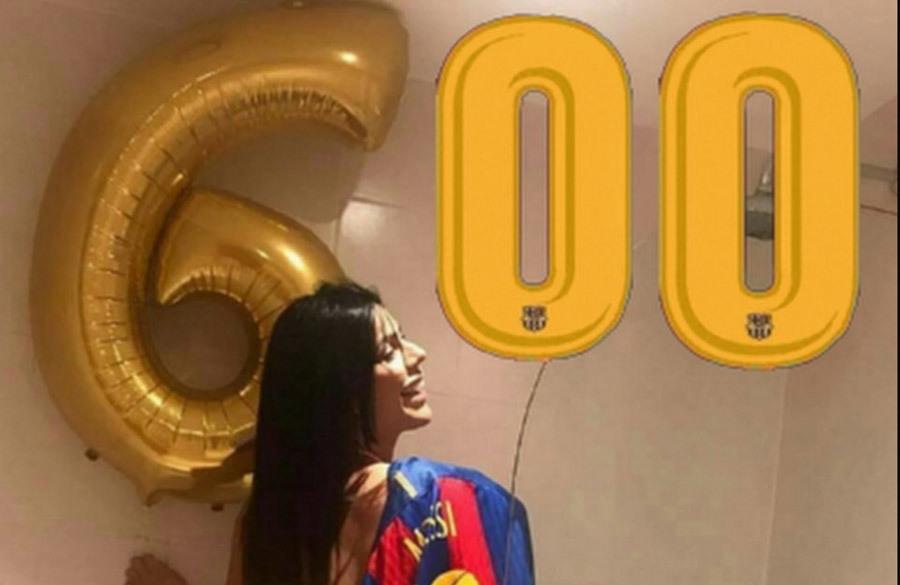 Messi lập kỳ tích, hoa hậu vòng ba tuyên bố 'thưởng nóng'