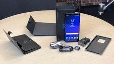 Cận cảnh đập hộp Galaxy S9+