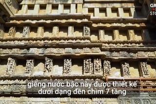 Giếng 7 tầng do hoàng hậu xây tặng đức vua