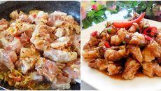 Nấu sụn heo rim cá mắm ngon hơn nhà hàng