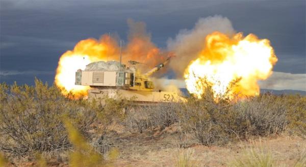 Giật tung người nghe siêu pháo Mỹ nhả đạn