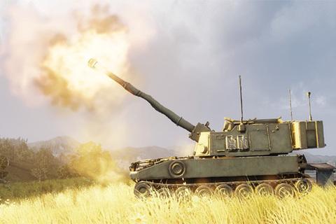 Giật bắn người với cú nã của siêu pháo tự hành M109 Paladin