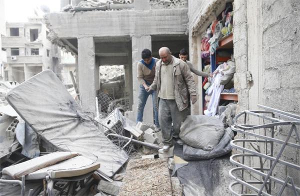 Syria,nội chiến,Đông Ghouta,địa ngục trần gian
