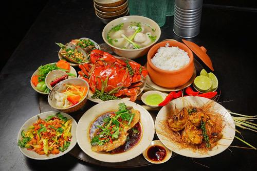 Góc ẩm thực Việt trang nhã ở 'Mâm'