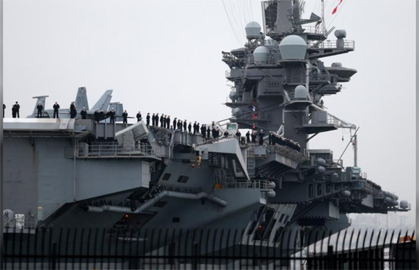Tàu sân bay Mỹ,USS Carl Vinson,siêu hàng không mẫu hạm Mỹ