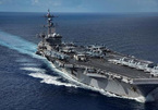 Xem siêu tàu sân bay Mỹ rẽ sóng Thái Bình Dương
