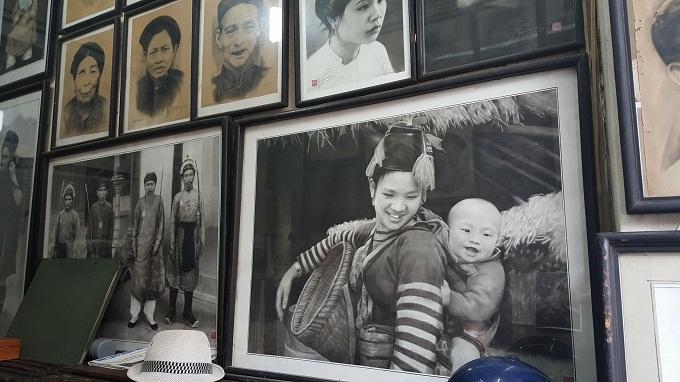 Phố cổ,Hà Nội xưa,Nghệ nhân,Họa sỹ