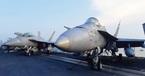 Dàn chiến đấu cơ uy lực trên tàu sân bay Mỹ ở Đà Nẵng