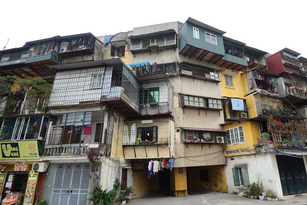 Bộ Xây dựng giục các địa phương cải tạo chung cư cũ