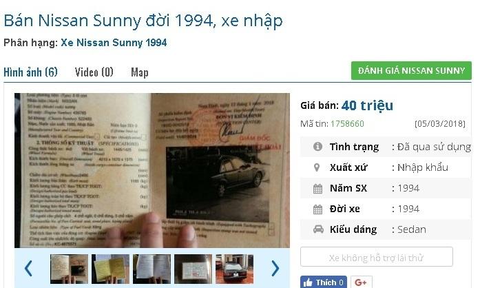 Chỉ với 40 triệu, bạn mua được những ô tô cũ chính hãng này tại Việt Nam