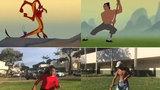Clip dựng lại cảnh tập võ theo phim 'Hoa mộc lan' gây sốt cộng đồng mạng