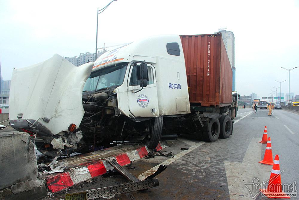 tai nạn,tai nạn giao thông,ùn tắc giao thông,vành đai 3,Hà Nội