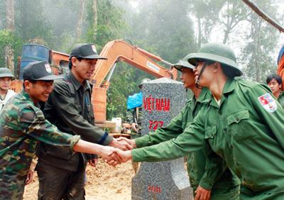 Bảo vệ vững chắc chủ quyền biên giới lãnh thổ quốc gia