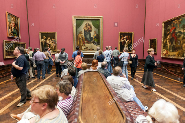 'Madonna Sistine' của Raphael