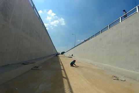 Sắp thông xe hầm chui qua vòng xoay 'tử thần' cửa ngõ Sài Gòn