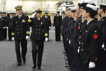 Nữ tư lệnh hạm đội đầu tiên của Nhật Bản