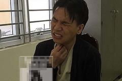 Châu Việt Cường cũng đã nhai rất nhiều tỏi khiến cổ họng bị sưng do bỏng tỏi