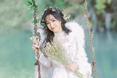 Nữ sinh 17 tuổi được khen đẹp thuần khiết như thiên sứ