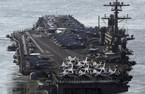 Uy lực dàn vũ khí khủng trên tàu USS Carl Vinson