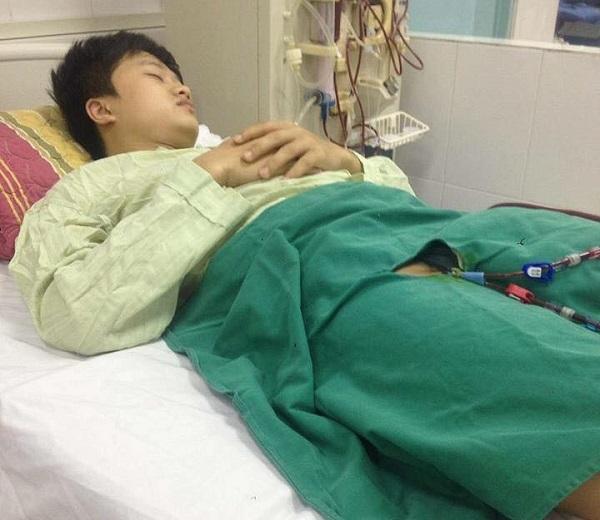 hoàn cảnh khó khăn,bệnh hiểm nghèo,suy thận giai đoạn cuối,từ thiện vietnamnet
