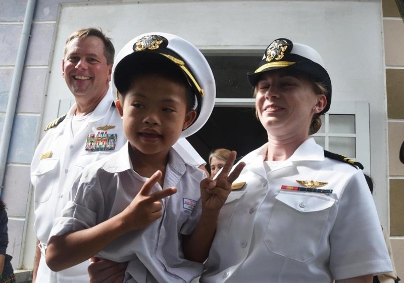 Tàu sân bay Mỹ thăm Đà Nẵng,Tàu USS Carl Vinson