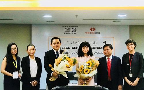 Techcombank chung tay phát triển nhân tài Việt trẻ