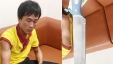 Tài xế rút dao tấn công nhân viên an ninh sân bay Vinh