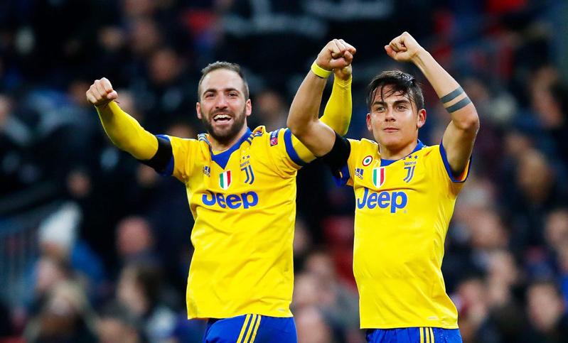 Juventus,Tottenham