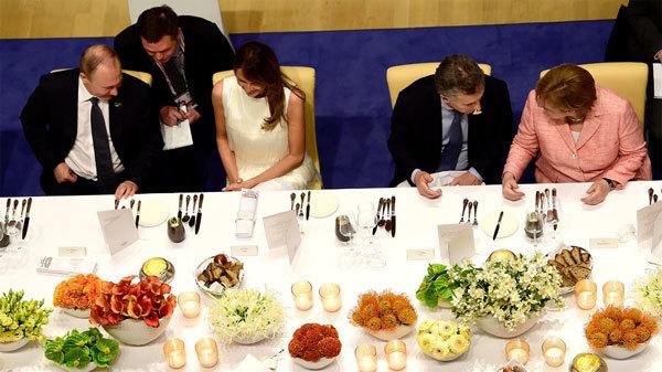 Tổng thống Putin,hội nghị G20,G20,vợ ông Trump,Melania Trump,đệ nhất phu nhân Mỹ