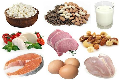 thuc pham chua nhieu protein