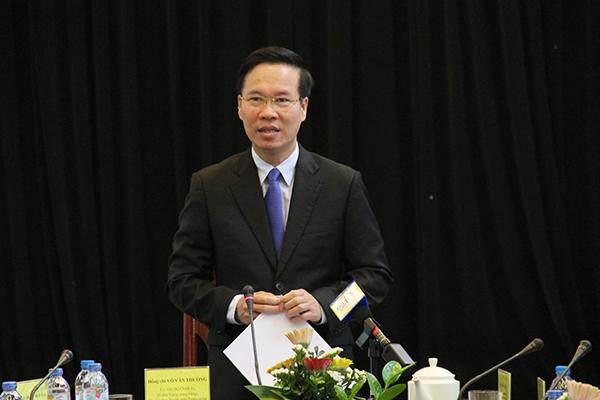 Trưởng ban Tuyên giáo TƯ,Võ Văn Thưởng,báo chí,Bộ trưởng TT-TT,Trương Minh Tuấn,mạng xã hội