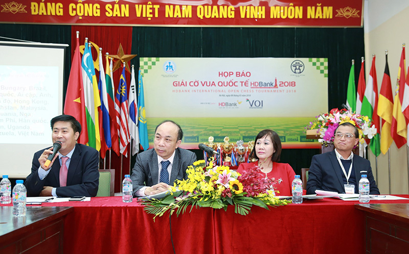 Lê Quang Liêm kỳ vọng bảo vệ chức vô địch Cờ vua HDBank 2018
