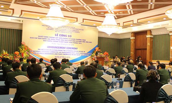 Bộ Quốc phòng thành lập Văn phòng 701