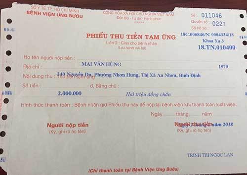ung thư,ung thư tuyến nước bọt,tái nghèo,hoàn cảnh khó khăn,bệnh hiểm nghèo,từ thiện vietnamnet