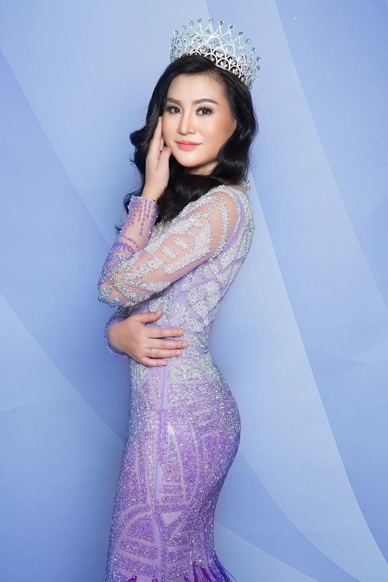 Trần Huyền Nhung - hoa hậu đam mê âm nhạc cháy bỏng