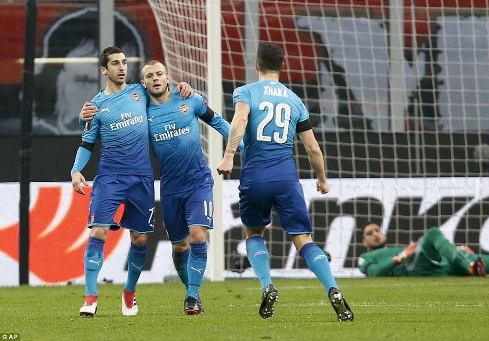 Người cũ MU giúp Arsenal hạ đẹp Milan