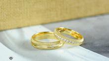 Nhẫn cưới phát lộc - mẫu nhẫn phong thủy hút khách
