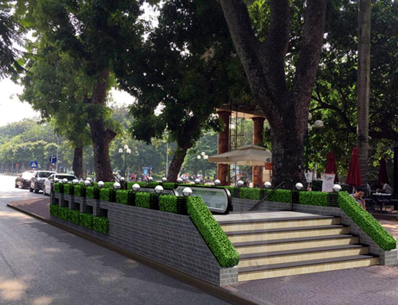 tàu điện ngầm,Hà Nội,ga tàu điện ngầm,hồ Hoàn Kiếm