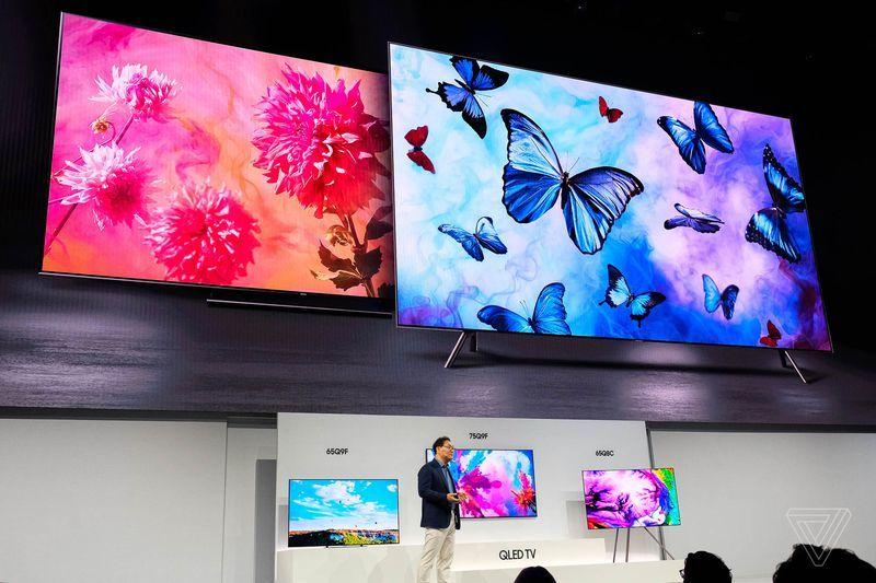 Samsung,TV QLED 2018