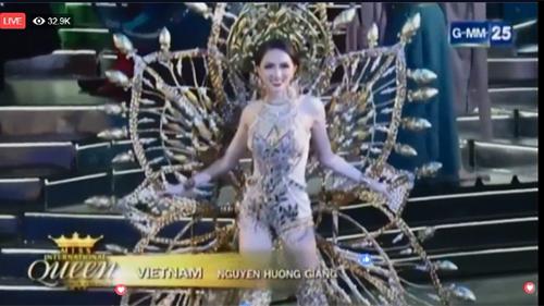 Miss International Queen 2018 - Trang phục truyền thống - Nguyễn Hương Giang