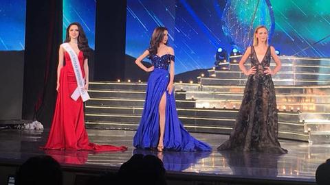 Phần thi ứng xử của Top 3 - Hoa hậu Chuyển giới 2018