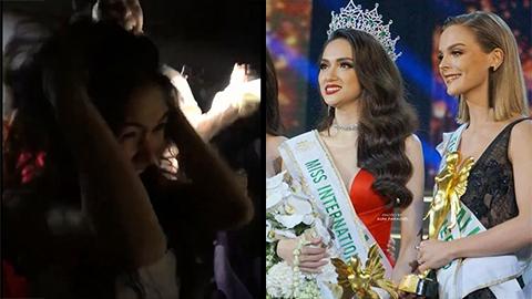 Hòa Minzy ôm đầu la hết khi Hương Giang đăng quang Hoa hậu Chuyển giới