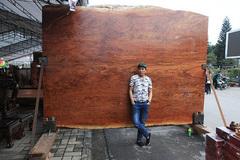 Sập gỗ cẩm 'siêu' đẹp 4 tỷ: Chỉ chụp ảnh không nỡ để nằm