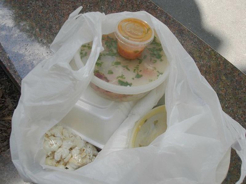 Túi nilong,chất độc,ung thư,ngộ độc thực phẩm