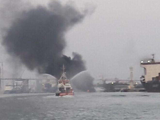 Cháy,Cảng Hải Phòng