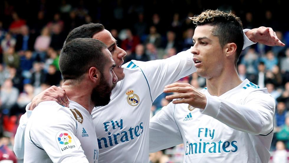 Ronaldo,Real Madrid,Eibar,La Liga